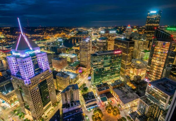Pittsburgh from above: Photos from the roof of PPG Place