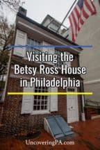 The Betsy Ross House in Philadelphia, Pennsylvania