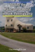 Haines Shoe House in York, Pennsylvania