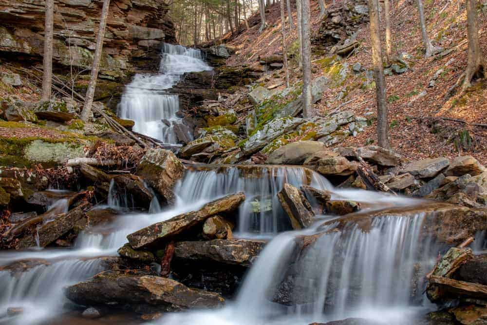 Alpine Falls in Loyalsock State Forest