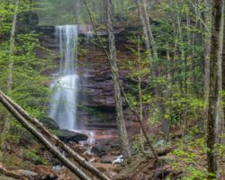 How to Get to Dutchman Run Falls in the McIntrye Wild Area