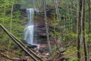 How to Get to Dutchman Run Falls in the McIntrye Wild Area