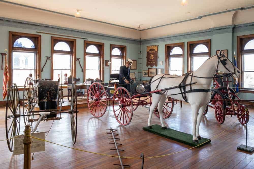 Visiting the Fire Museum of York County in York, PA