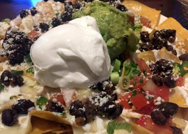 Nachos at Iron Hill in Hershey, PA during Happy Hour