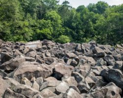 Visiting the Amazing Ringing Rocks Park near Pottstown, PA