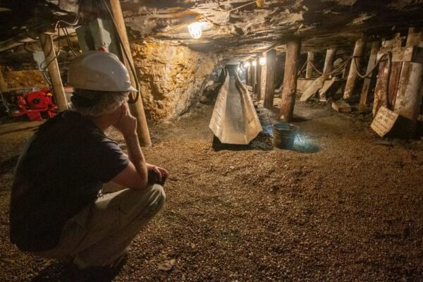 Touring the Tour-Ed Mine and Museum near Pittsburgh with kids