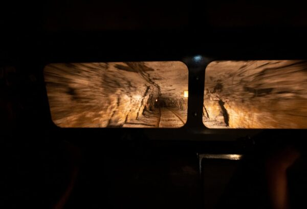 Inside the Tour-Ed Mine in Tarentum, Pennsylvania