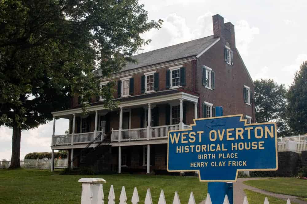 West Overton Village in Westmoreland County, PA