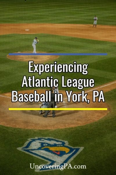 Atlantic League Baseball in York Pennsylvania