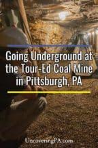 Tour Ed Mine near Pittsburgh, Pennsylvania