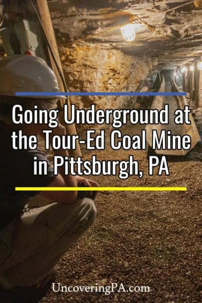 Tour Ed Mine near Pittsburgh, Pennsylvania