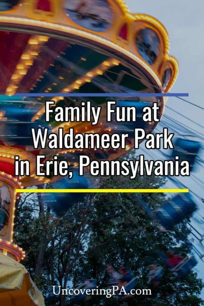 Waldameer Park in Erie Pennsylvania