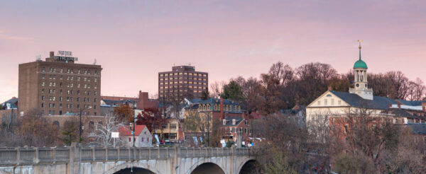 Bethlehem PA skyline
