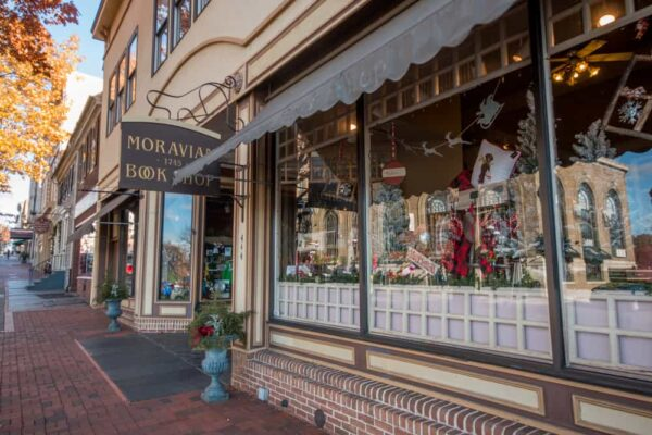 The Moravian Book Shop in Bethlehem, Pennsylvania