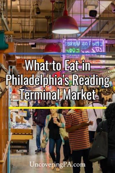Reading Terminal Market in Philadelphia Pennsylvania