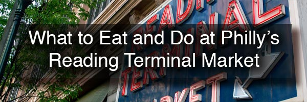 Reading Terminal Market Restaurants