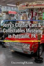 Jerry's Classic Cars and Collectables Museum in Pottsville Pennsylvania