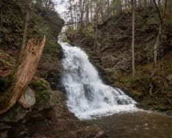 How to Get to Little Shickshinny Falls in Luzerne County, PA