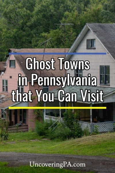 Ghost towns in Pennsylvania