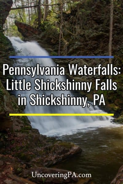 Little Shickshinny Falls in Luzerne County Pennsylvania