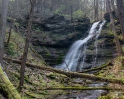 Hiking the Bohen Falls Trail in the PA Grand Canyon