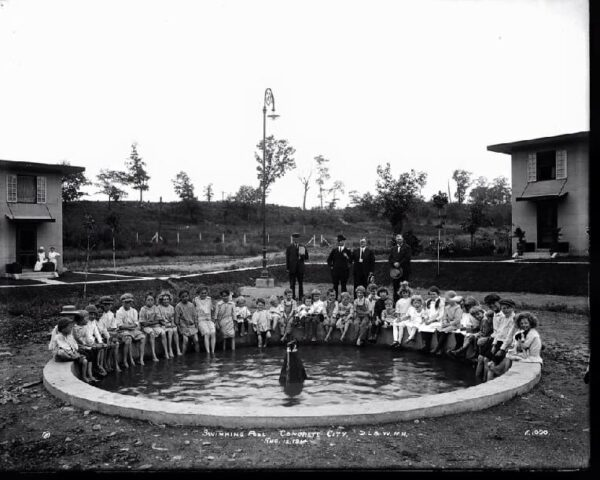 Concrete City swimming pool