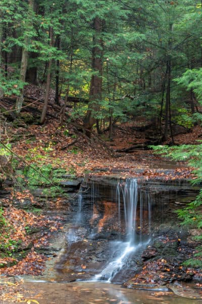 Grindstone Falls in McConnells Mill State Park in PA