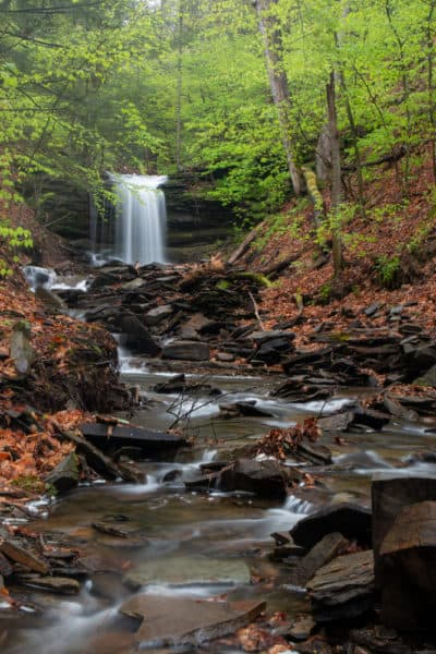 Lost Falls in State Game Lands 140 in PA