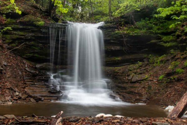 Lost Falls in Susquehanna County, PA