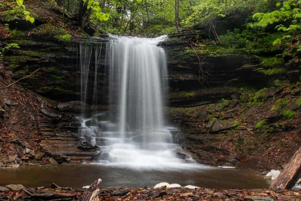 Lost Falls in Susquehanna County, PA