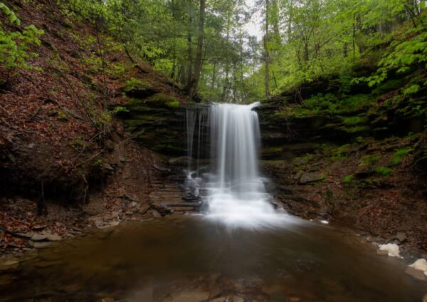 Lost Falls in Susquehanna County PA