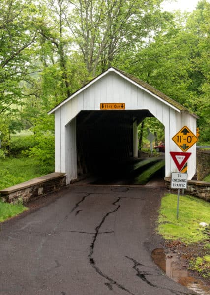 Loux Covered Bridge near Philadelphia, PA