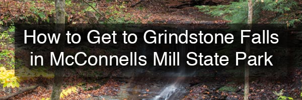 Grindstone Falls in McConnells Mill State Park