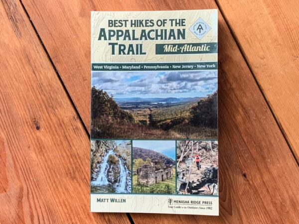 Best Hikes of the Appalachian Trail: Mid-Atlantic hiking guide book