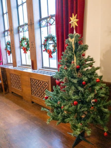 Christmas at the Nationality Rooms in the Cathedral of Learning in Pittsburgh PA