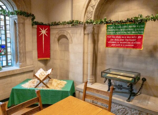 More holiday decorations at the Cathedral of Learning's Nationality Rooms in Pittsburgh PA