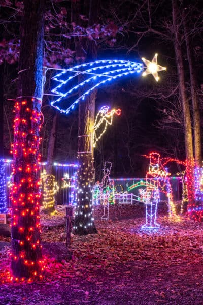 Rocky Ridge lights in York County, PA