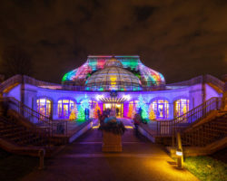 Experiencing Christmas at Phipps Conservatory in Pittsburgh