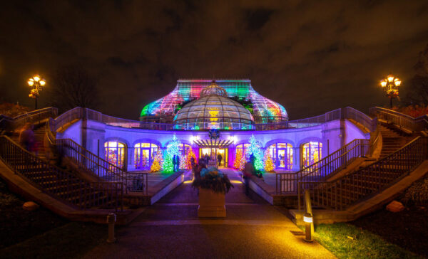 Winter Flower Show at Phipps Conservatory in Pittsburgh