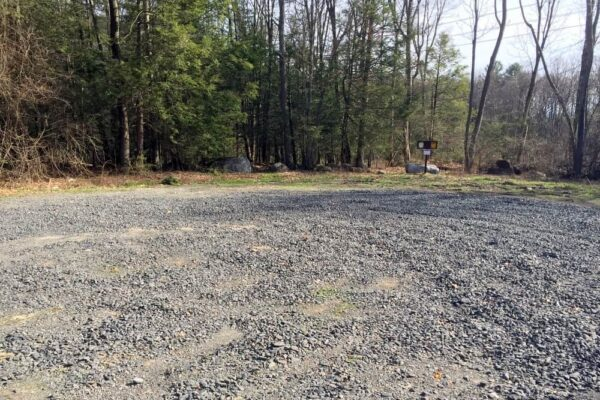 Parking in State Game Lands 260 in Shickshinny Pennsylvania
