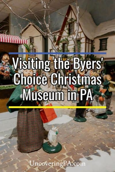 Byers Choice Christmas Museum in Chalfont Pennsylvania
