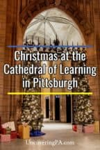 Christmas at the Cathedral of Learning in Pittsburgh, Pennsylvania