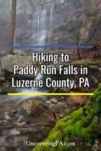 Paddy Run Falls in Northeastern Pennsylvania