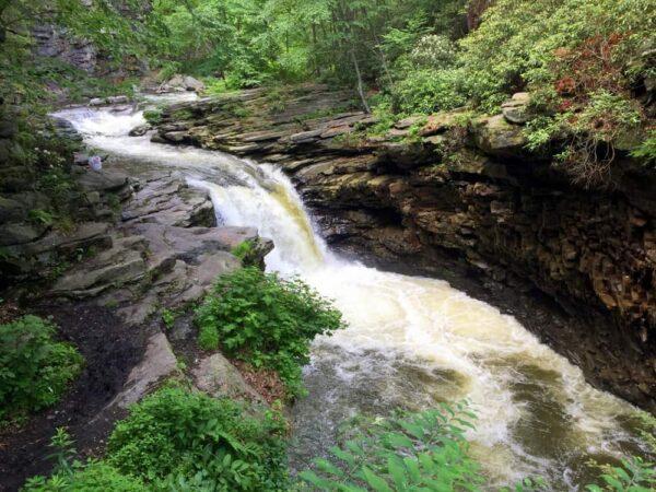 Nay Aug Falls in Scranton PA