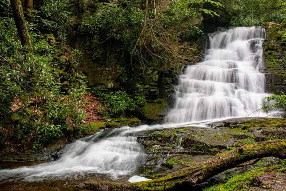 Rattlesnake Falls in Monroe County, PA