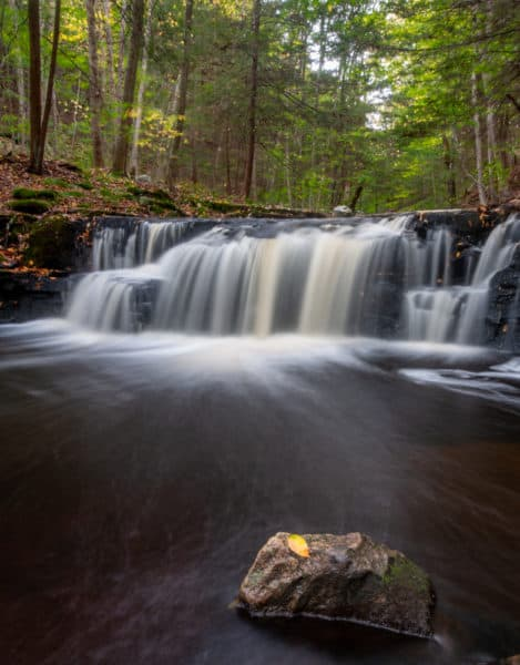 Upper Rusty Falls in Loyalsock State Forest