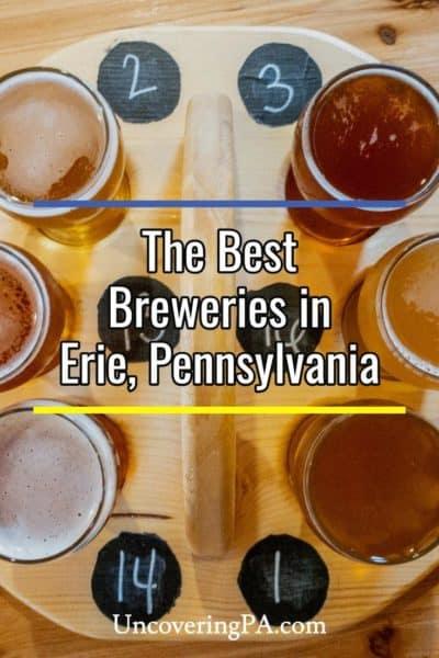 Breweries in Erie Pennsylvania
