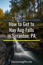 Nay Aug Falls in Scranton Pennsylvania