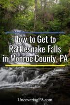 Rattlesnake Falls in Monroe County PA