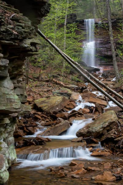 Dutchman Run Falls in Lycoming County PA
